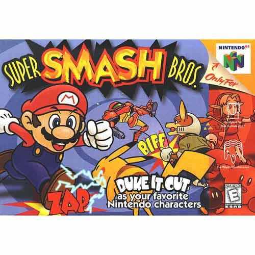 Nintendo Super Smash Brothers N64 by Nintendo