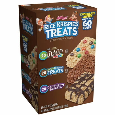 Kellogg's Rice Krispies Treats Variety Pack, 60 ct./0.78 oz. (Rice Krispies Halloween Treats)