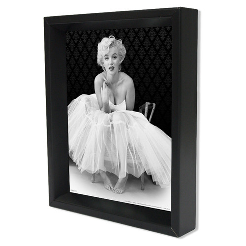 Pyramid America Marilyn Monroe Ballerina Photographic Print Shadow Box