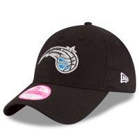 Orlando Magic New Era Women's Team Glisten 9TWENTY Adjustable Hat - Black - OSFA