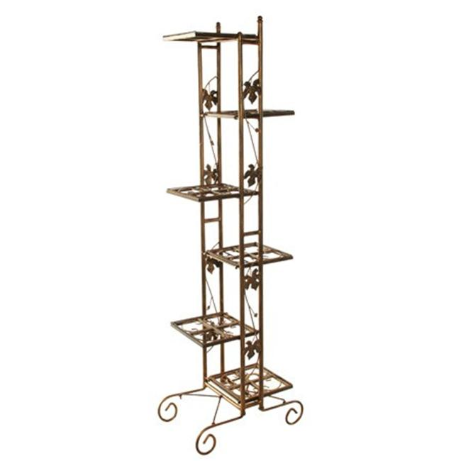 Oakland Living 5199-BK 6 Level Plant Stand 66 Inches Black by Oakland Living Corporation