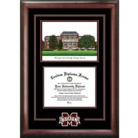 "Mississippi State Bulldogs 8.5"" x 11"" Spirit Graduate Diploma Frame"