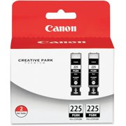 Canon PGI-225BK Original Ink Cartridge, 2 / Pack (Quantity)