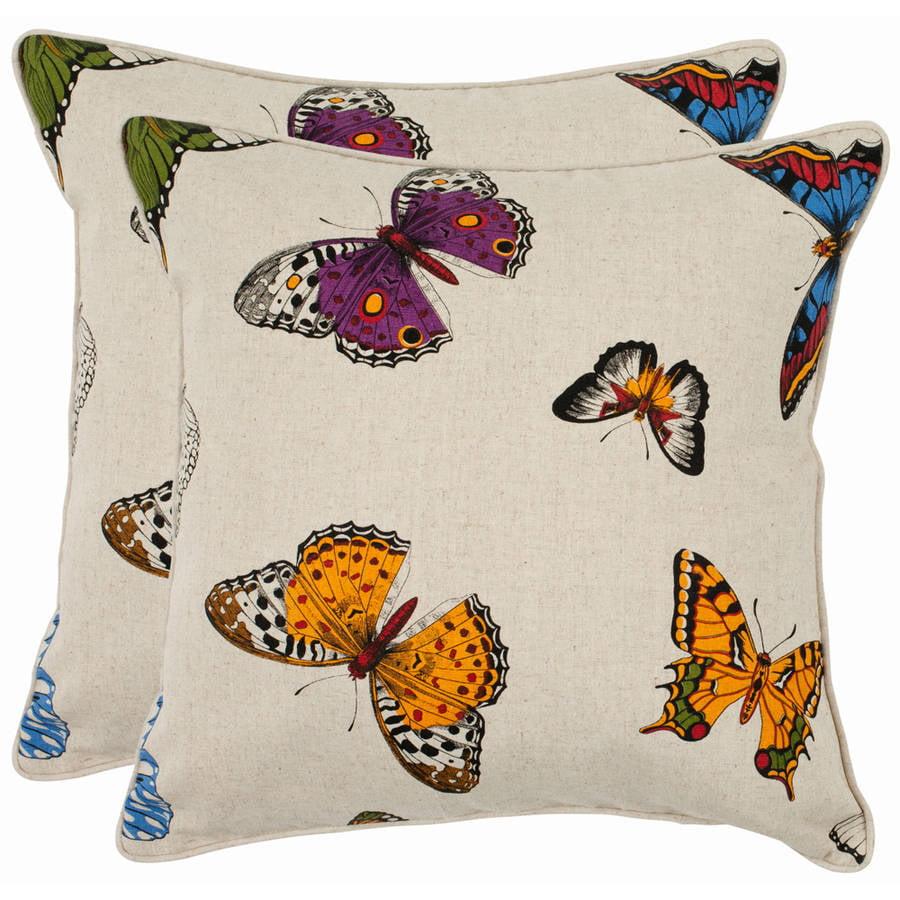 Safavieh Emilie Multi Pillow, Set of 2