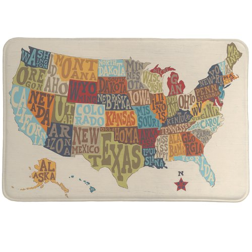 Laural Home States Collage Mat