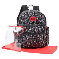 Mickey Mouse Toss Head Print Backpack Diaper Bag