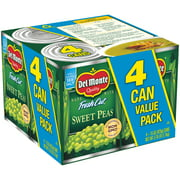 Del Monte Fresh Cut Sweet Peas 4pk 15oz cans