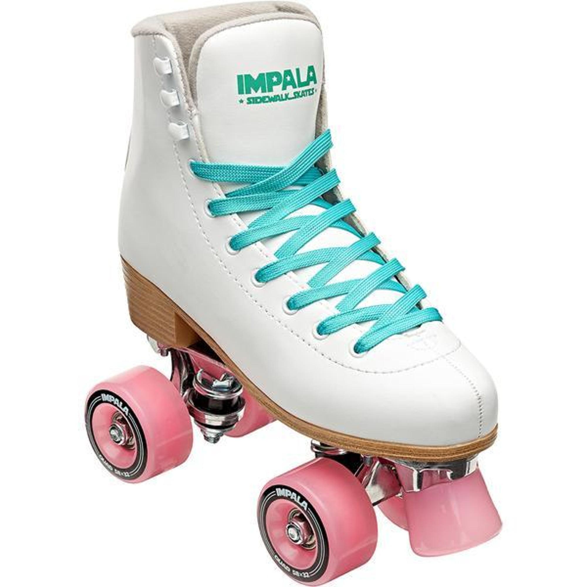 Size: 9 WomensLeopard Quad Roller SkatesVegan Impala