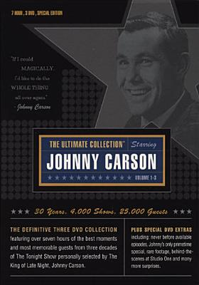 The Ultimate Collection Starring Johnny Carson: Volumes 1-3 by R2 ENTERTAINMENT