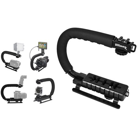 Ultimaxx Professional Video Action Stabilizing Handle Grip Handheld Stabilizer for DSLR Cameras and Camcorders - image 4 of 4