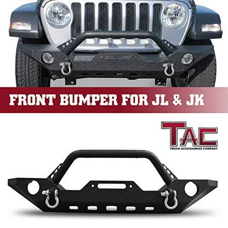 Tac Front Bumper Fit 2018 2019 Jeep Wrangler Jl 2020 Jeep