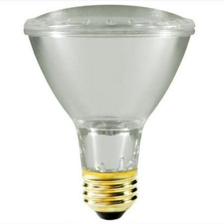 50w par30 long neck halogen narrow spot clear light bulb. Black Bedroom Furniture Sets. Home Design Ideas