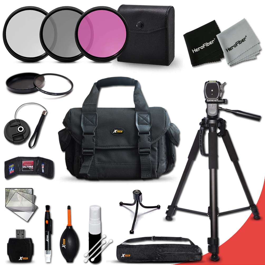 Essential 19 Piece Accessory Kit for Canon EOS Rebel T6i,...