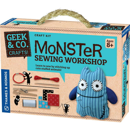 Thames & Kosmos Monster Sewing Workshop Science Experiment Kit