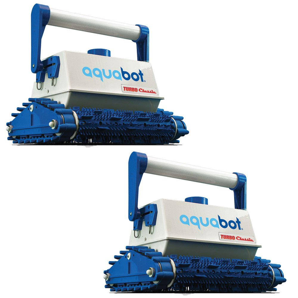 Aquabot Turbo Classic In-Ground Automatic Robotic Swimming Pool Cleaner (2 Pack)