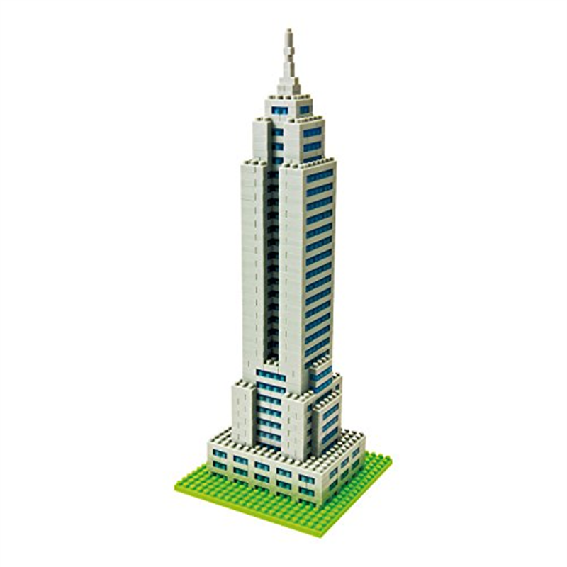 Nanoblock Empire State Building (japan import) by Schylling