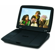 Rca DRC96100 Portable Dvd Player With 10-inch Lcd Screen And Built-in Rechargeable Battery
