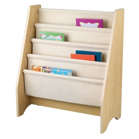 One Step Ahead Sling Bookshelf Kids Childrens Book Magazine Storage Rack