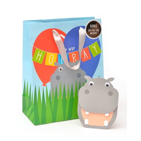 Zoomerang Hip-Hip-Hooray! Medium Gift Bag & Birthday