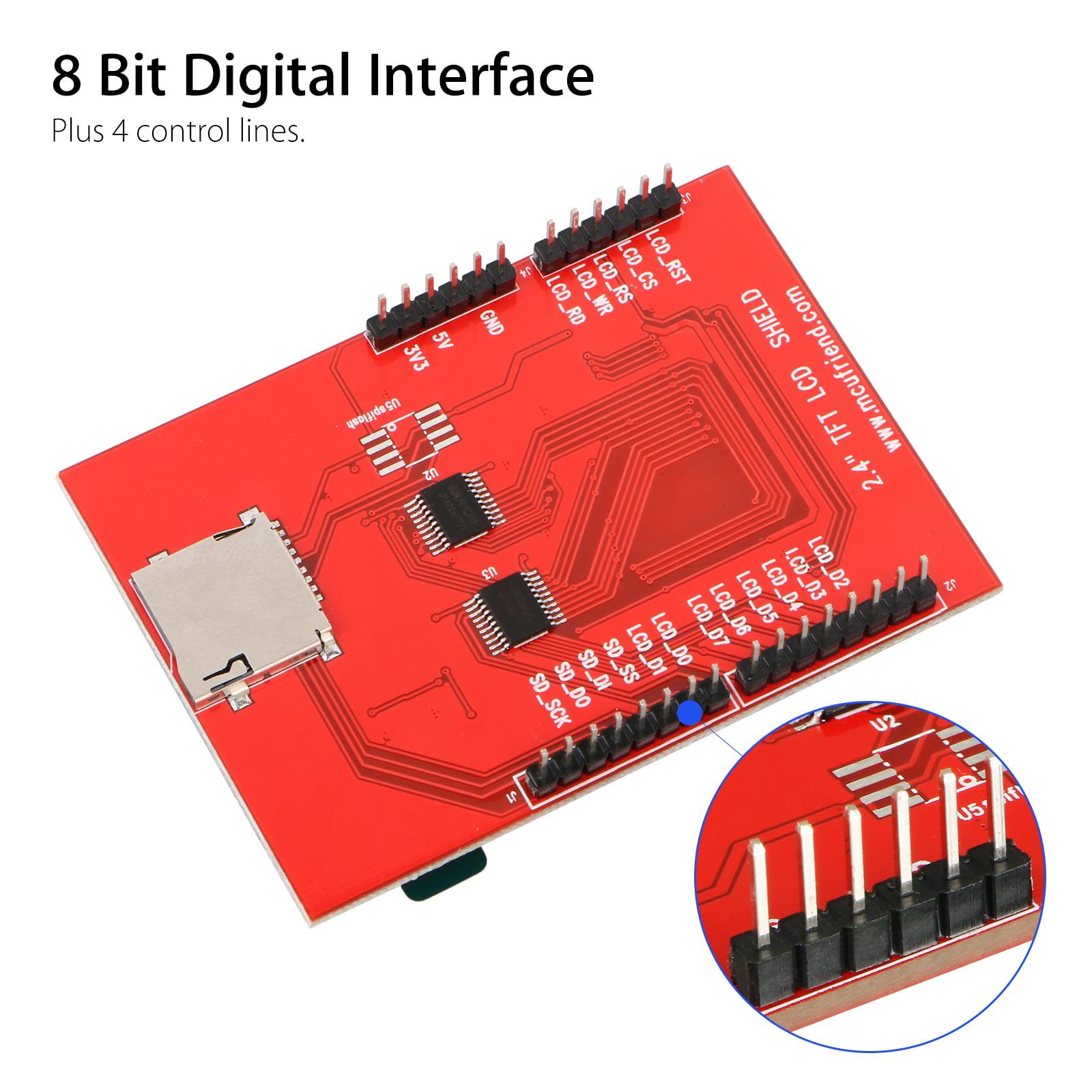 LCD Arduino Shield NO TOUCH SCREEN 2 4 inch 240×320 18bit