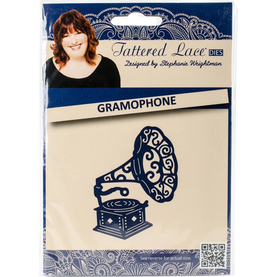 Tattered Lace Metal Die-Gramophone