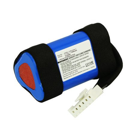 Synergy Digital Speaker Battery, Compatible with JBL Charge 4 Speaker, (Li-ion, 3.7V, 7800mAh) Ultra High Capacity, Replacement for JBL 1INR19/66-3, ID998, SUN-INTE-118 Battery