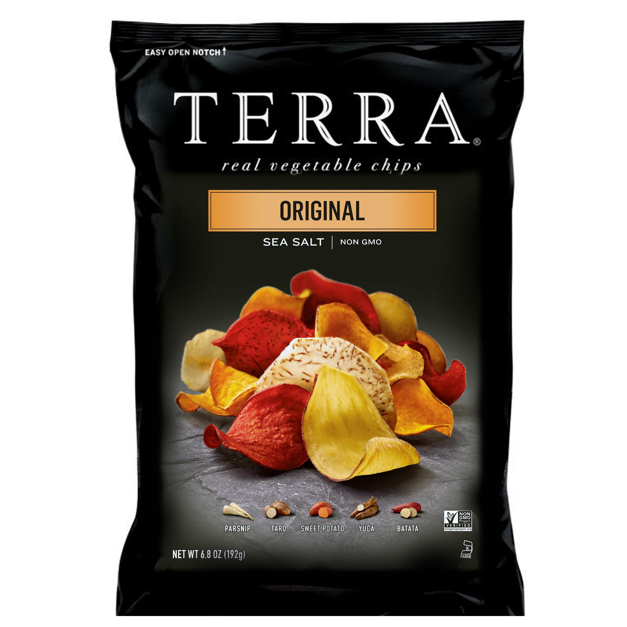 (2 pack) TERRA Original Chips with Sea Salt, 6.8 oz.