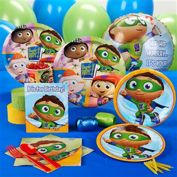 Super Why  Standard Party Pack -16