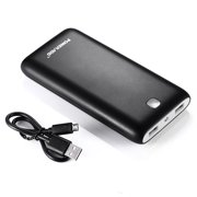 Poweradd Pilot X7 20000mAh Power Bank Portable Charger Dual USB Ports External Battery for iphone Samsung Tablets Cellphones