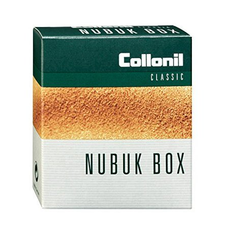 Nubuck Box Classic with Foam Rubber Sponge and Crepe Side That Cleans Dirt, Dust, and Returns Suede Nubuck Leather to Original Texture. Made in Germany.,.., By Collonil