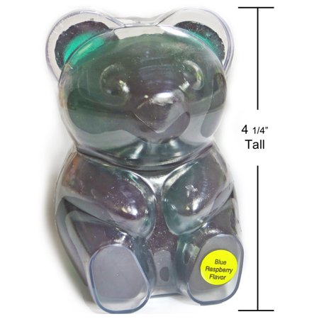 BIG BIG Blue Raspberry Gummy Bear (13oz)](Gummy Bear Warning Halloween)
