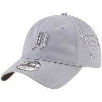 free shipping d608c 55568 Product Image Detroit Tigers New Era Perforated Tone 9TWENTY Adjustable Hat  - Gray - OSFA