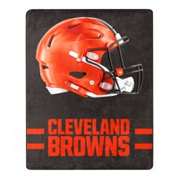 Cleveland Browns The Northwest Company 55'' x 70'' Minimal Silk Touch Throw - Brown - OSFA