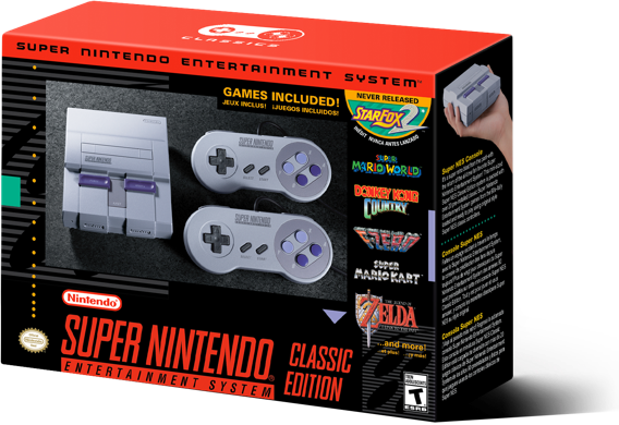 Super Nintendo Entertainment System Snes Classic Edition Walmart Com Walmart Com