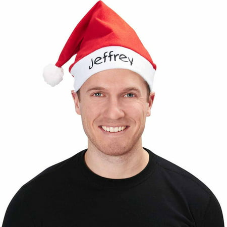 Economy Red Santa Hat Adult Accessory