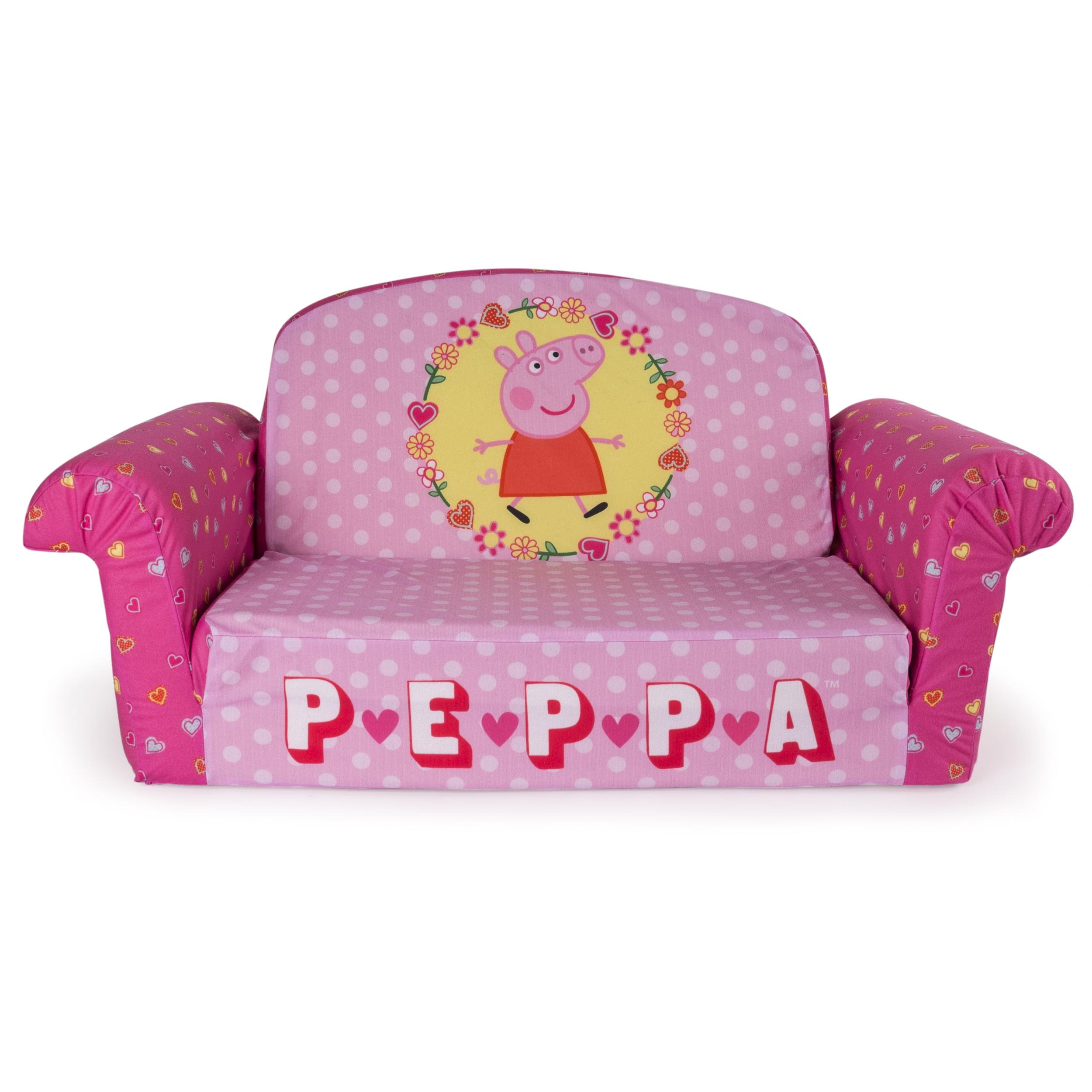 Peppa Pig Bedroom Furniture Marshmallow Furniture Flip Open Sofa Peppa Pig Walmartcom