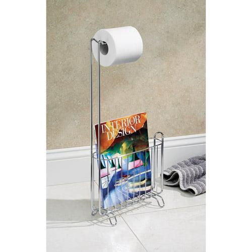 InterDesign Classico Magazine and Toilet Tissue Stand