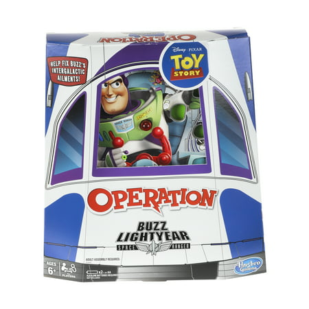 Operation: Disney/Pixar Toy Story Buzz Lightyear Board Game ()