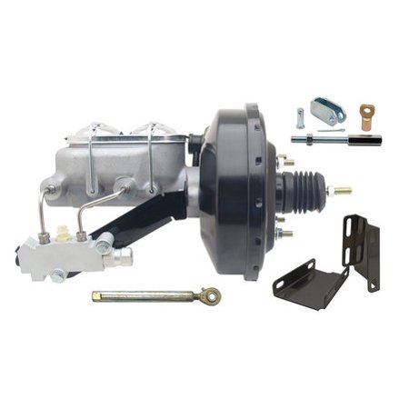 - 1960-66 Chevy Truck C10 C20 9 Power Brake Booster Kit Side Disc/Drum