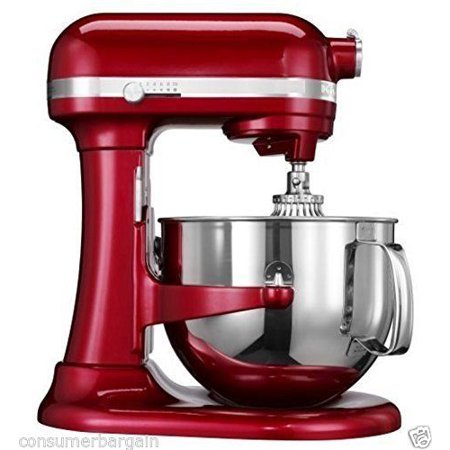 KitchenAid R-KP26M1XCA PROFESSIONAL 600 STAND MIXER 6 QUART 10-SPEED CANDY APPLE (Certified
