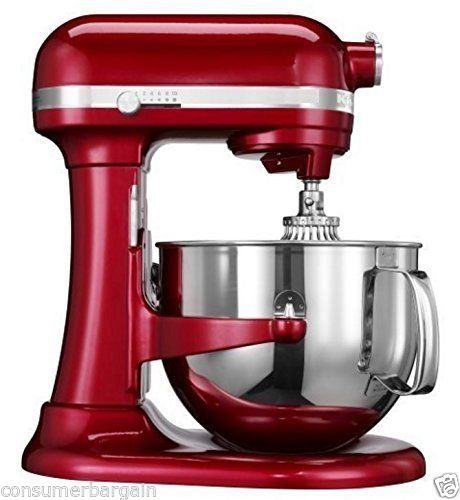 KitchenAid R-KP26M1XCA PROFESSIONAL 600 STAND MIXER 6 QUART 10-SPEED CANDY APPLE (Certified Refurbished)