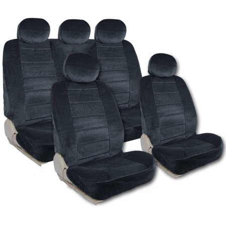 Bdk Regal Extra Large Car Seat Covers 9 Pieces Front And Rear Full