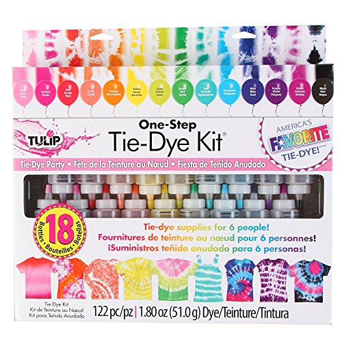 Tulip 36806 Tie Dye Unicorn Box Kit - 5Units (Tulip One Step Tie-Dye Kit)