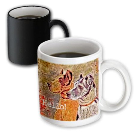 Halloween Places Near Me (3dRose The Witchs Cat sits near a cozy fireplace entertaining her batty friend on Halloween night, Magic Transforming Mug,)