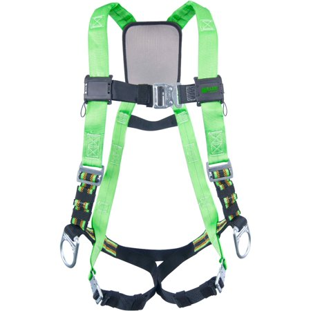 Miller by Honeywell Universal DuraFlex Python Ultra Full Body Style Harness With Back And Side D-Ring, Friction Shoulder Strap Buckle, Quick Connect Chest Strap Buckle, Quick Connect Leg Strap