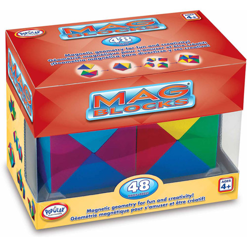 Mag Blocks 48 Piece Set by Popular Playthings