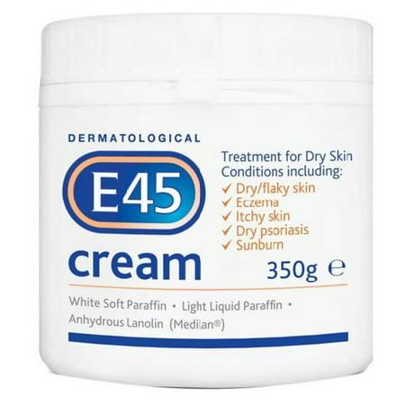 E45 Dermatological Cream Treatment for Dry Skin Conditions (E45 Bath)