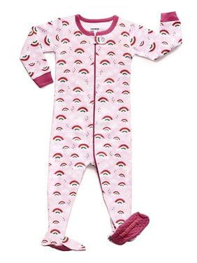 04cf05c06 Product Image Leveret Rainbow Footed Pajama Sleeper 100% Cotton (4 Years)