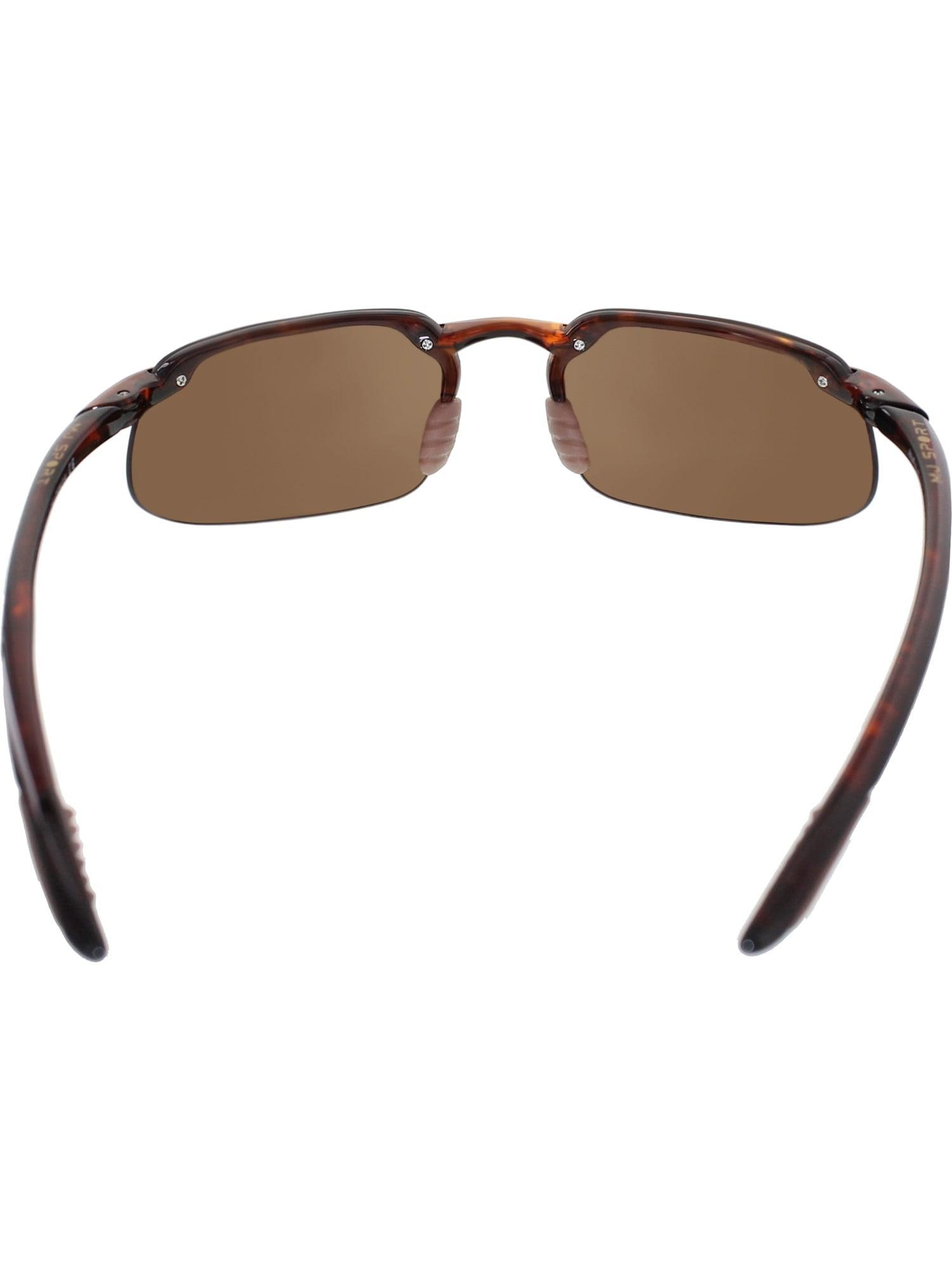 dee56badbc96e Maui Jim - Maui Jim Men s Polarized Kanaha H409-10 Tortoiseshell  Semi-Rimless Sunglasses - Walmart.com