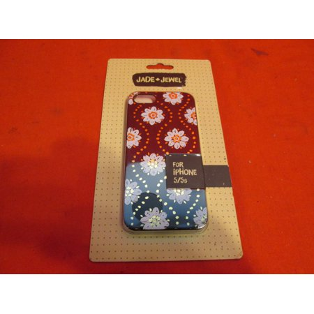 Jade & Jewel Medallion Floral Cell Phone Case iPhone 5 5S SE Black/White CO8400 Cover Fitted - Medallion Cases